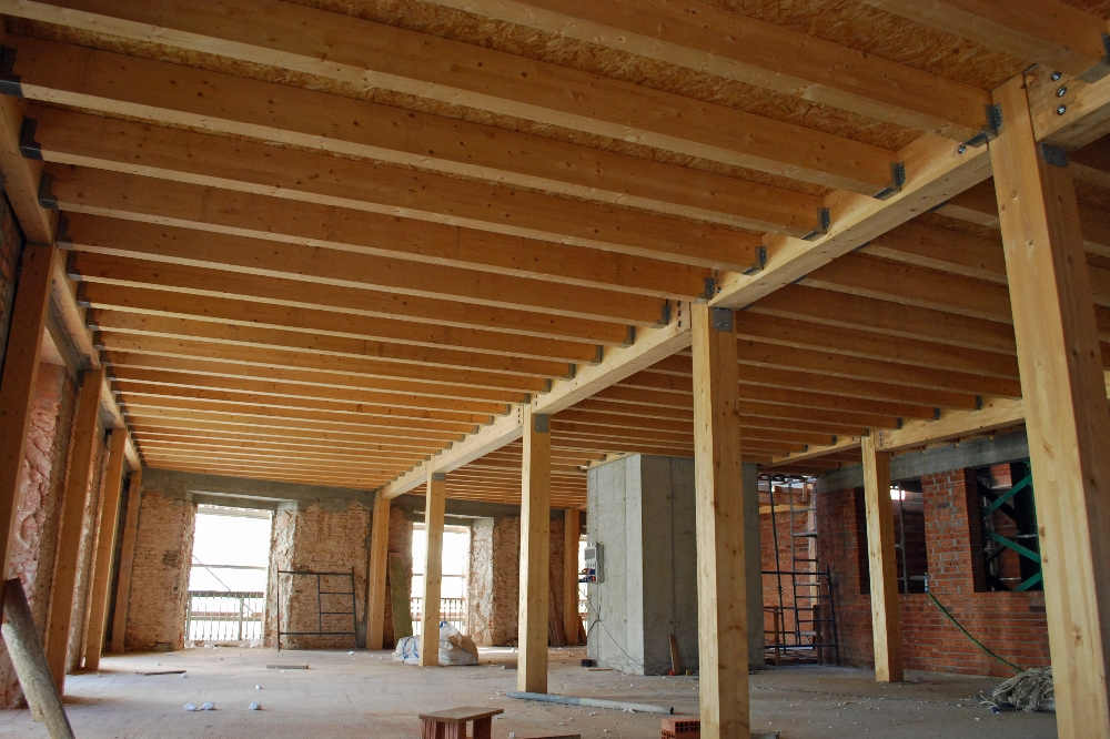 Trc estructuras de madera - Estructura madera laminada ...